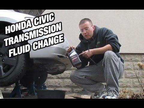 How To Change Honda Civic Transmission Fluid