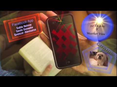 iPhone 5 hologram feature