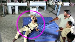 Accident Video - Priyanka Chopra Hits Co-Actor On Jai Gangaajal Sets