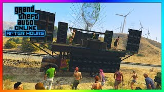 GTA 5 Online - NEW $1.3 Million Festival Bus Review & Customisation! (After Hours Nightclub DLC)
