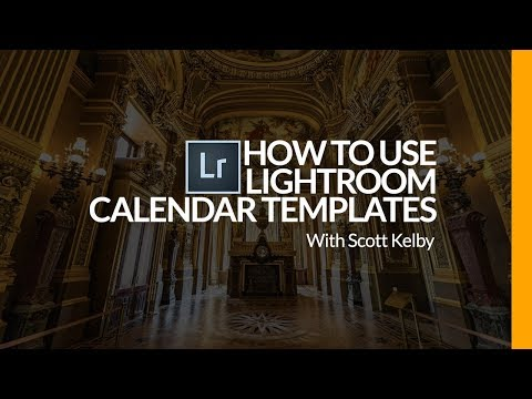 How to Get, Install & Use Free 2018 Lightroom Calendar Templates