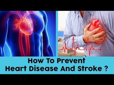 10 Tips to Prevent Heart Disease And Stroke