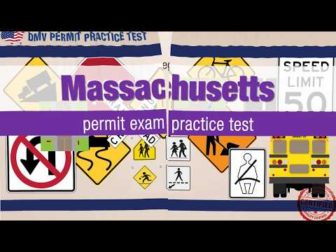 Massachusetts permit exam practice test