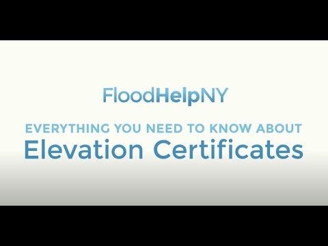 Everything You Need to Know About Elevation Certificates