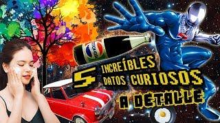 5 INCREÍBLES DATOS CURIOSOS A DETALLE #8