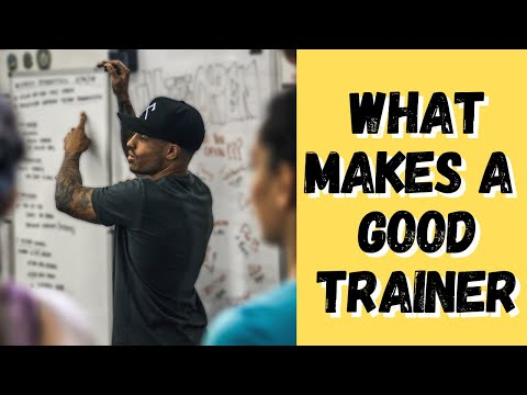 Top 8 Characteristics of a Good Coach or Trainer | Fitness Coach