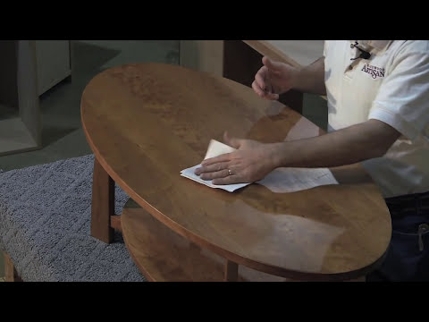 How to Remove a Water Ring on Hardwood Furniture