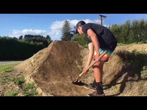 Building dirt jumps 2