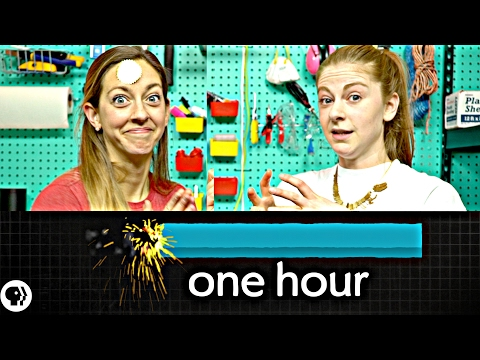Can you solve the burning stick riddle? ft Simone Giertz part 3/3