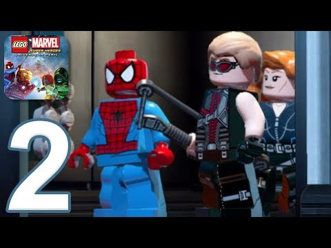 LEGO Marvel Super Heroes - Gameplay Walkthrough Part 2 (iOS, Android)