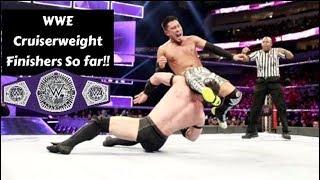 WWE Cruiserweight Finishers So far !!