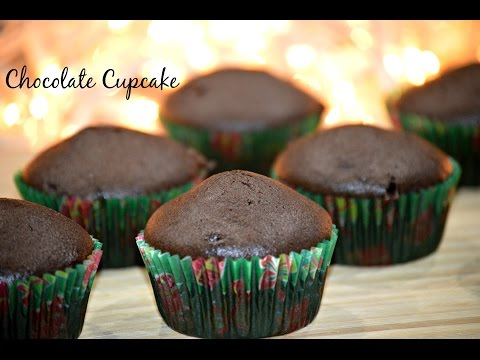 Eggless Chocolate Cupcakes | Basic & Easy Cupcake Recipe | How to Make Chocolate Cupcakes