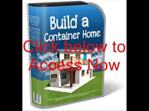 The cheapest way to build a container home from start to finish! |Pdf plans and complete blueprint!!