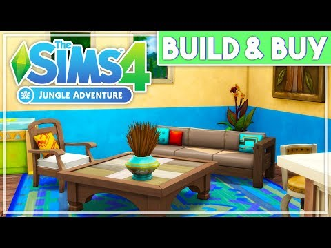 AMAZING NEW FURNITURE😍 // THE SIMS 4 | JUNGLE ADVENTURE – BUILD & BUY