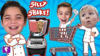 Sillyshake CHALLENGE with HobbyKids