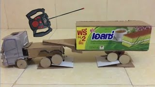 RC Heavy Truck How to Make RC Truck Container At Home