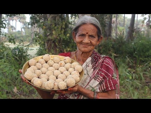 Tasty and Healthy Rava Laddu by My Grandma || Myna Street Food