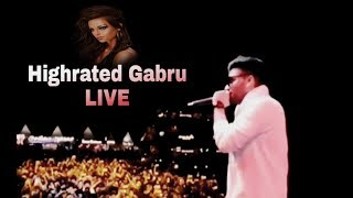 Guru Randhawa Live || Highrated Gabru || The Grub Fest 2018