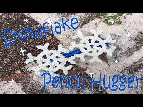 Snowflake Pencil Hugger