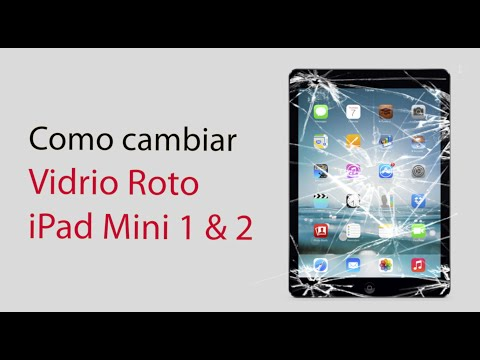iPad mini 1 & 2 Como cambiar el Touchscreen /  How to fix Touchscreen Glass
