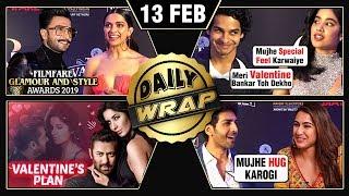 Ranveer Deepika Valentines, Kartik Sara Romance, Akshay Kumar Kesari Teaser   Top 10 News