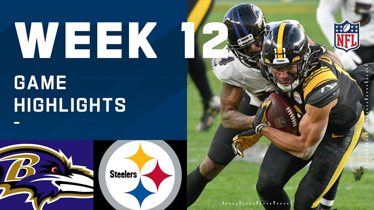 Ravens vs. Steelers Week 12 Highlights | NFL 2020