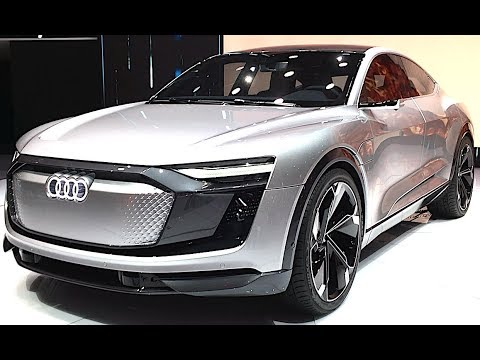 The most luxurious SUV AUDI E-TRON QUATTRO 2018