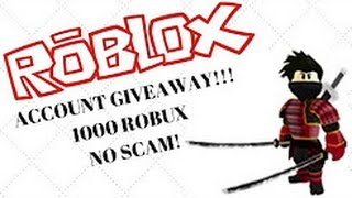 Rich Account Password Free Robux Included