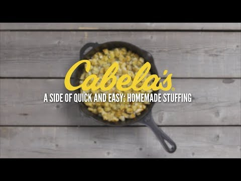 A Side Of Quick & Easy: Homemade Stuffing