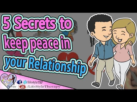 5 Secrets to keep peace in your relationship animated video