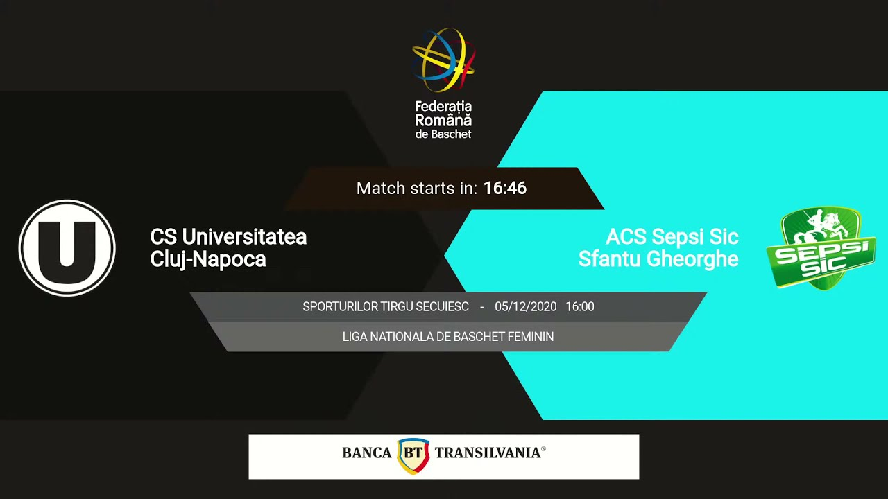 LNBF 2020-2021: Universitatea Cluj-Napoca - Sepsi-SIC Sf. Gheorghe