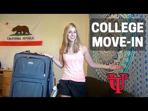 University of Tampa MOVE IN DAY VLOG!