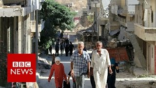What is it like to live under siege? BBC News