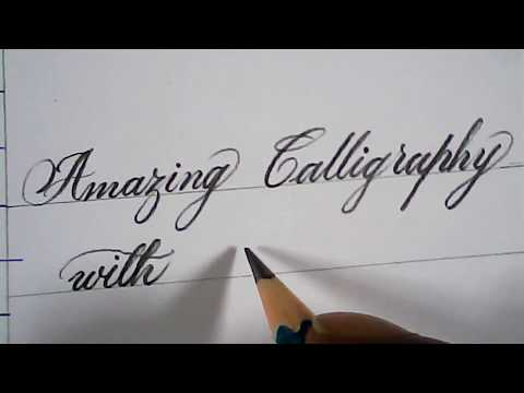 hand writing | good and neat pencil handwriting | for kids/ beginners