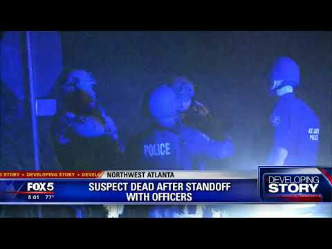 Suspect dead after standoff with officers