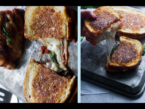 How to make Grilled Cheese (Margherita)   Lizzy