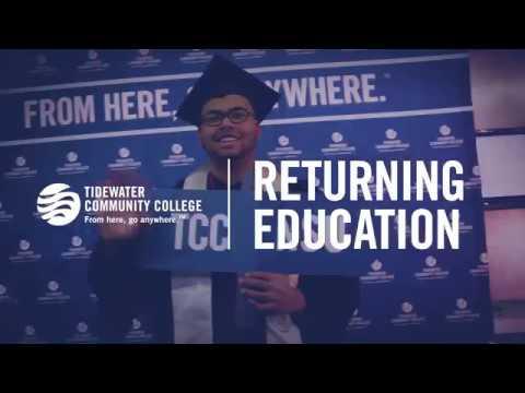 TCC Stories presents: Returning Education