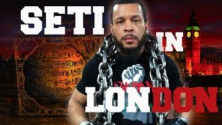 SARA SUTEN SETI & YOUNG PHARAOH | London Live Interview | Talk With The Titans