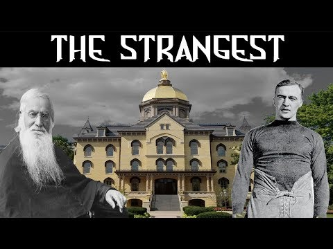 Haunted Universities: University of Notre Dame