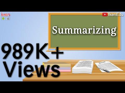 Summary Writing |  Learn How to Write Summary