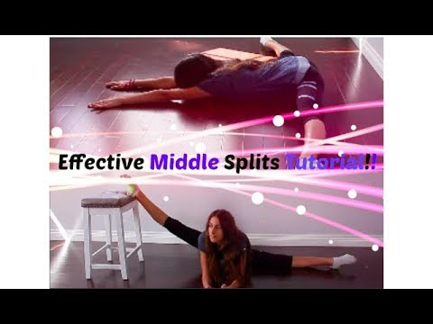 How to do the Middle Splits FAST!!