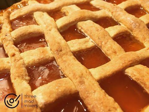 Thermomix recipes - Italian Apricot Jam Tart
