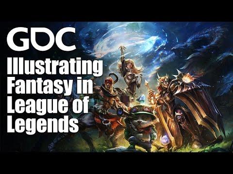 Illustrating Fantasy in League of Legends