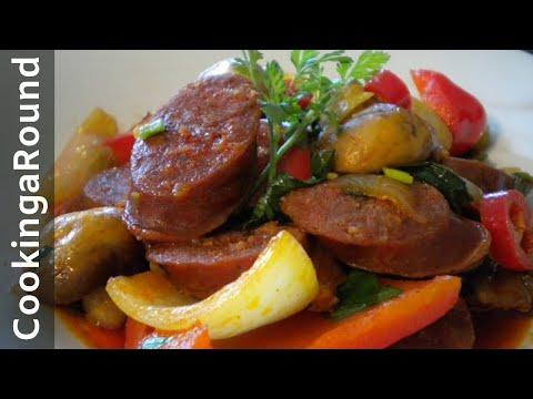 Chorizo Sausage Stir Fry  Recipe