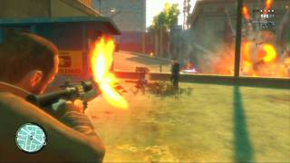 Grand Theft Auto 4 (ps3) - Random Gameplay - Bazooka Mayhem Redux (11/1/09)