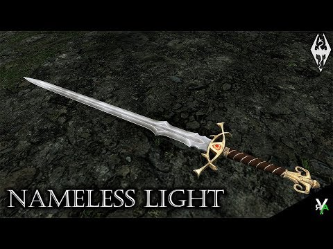 NAMELESS LIGHT: Ceremonial Sword Mod!!- Xbox Modded Skyrim Mod Showcase
