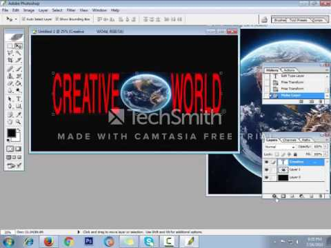 Create youtube Channel Banner using Photoshop 7 0