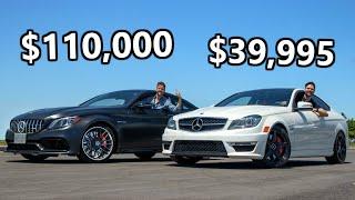 2020 Mercedes-AMG C63 S vs 2013 Mercedes C63 AMG // Cheap Meets Steep