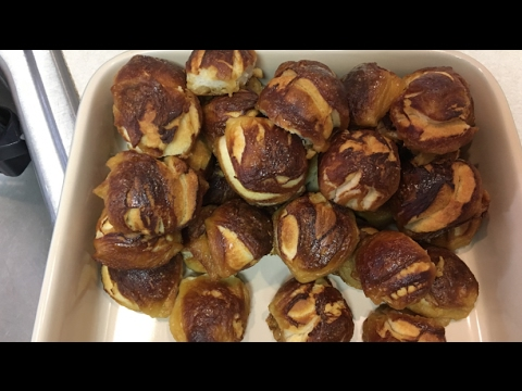 Pretzels from CANNED Pillsbury Biscuit DOUGH !