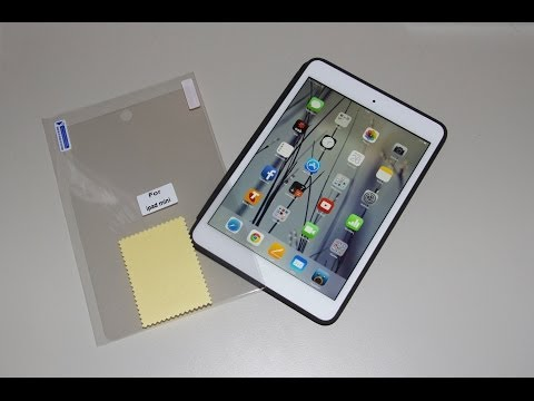 How to Fit a Screen Protector Perfectly - iPad mini (iPad Air)